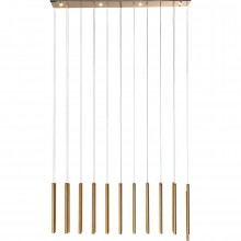 Suspension Living Vegas cuivre LED Kare Design