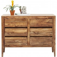 Commode Brooklyn nature 6 tiroirs Kare Design