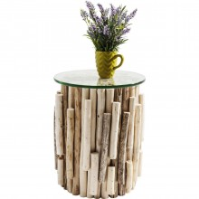 Table d'appoint Timber Nature Kare Design