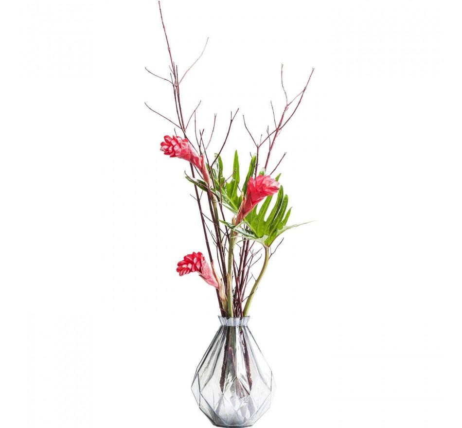 Vase La Gema gris 30cm Kare Design