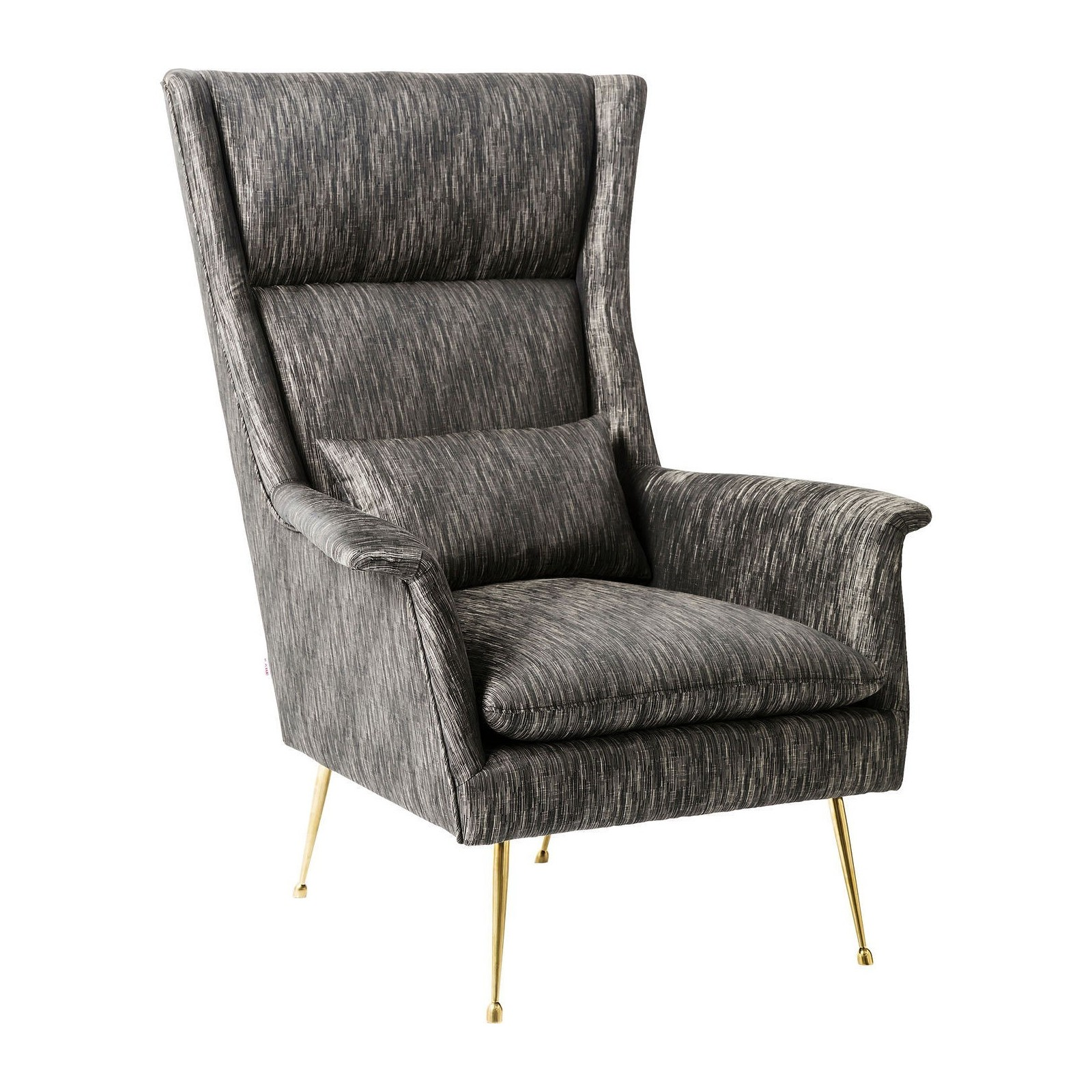 fauteuil retro gris chine vegas forever kare design. Black Bedroom Furniture Sets. Home Design Ideas