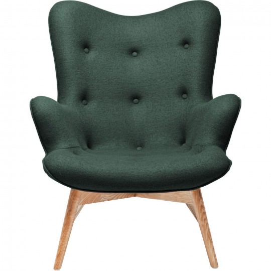 Fauteuil Retro Angels Wings vert kaki Kare Design