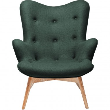 Fauteuil Retro Angels Wings vert Kare Design