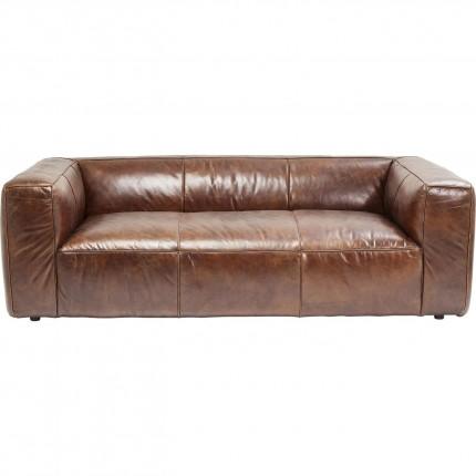 Canapé en cuir Cubetto 220cm Kare Design