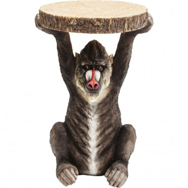 Table d'appoint Animal Babouin Kare Design