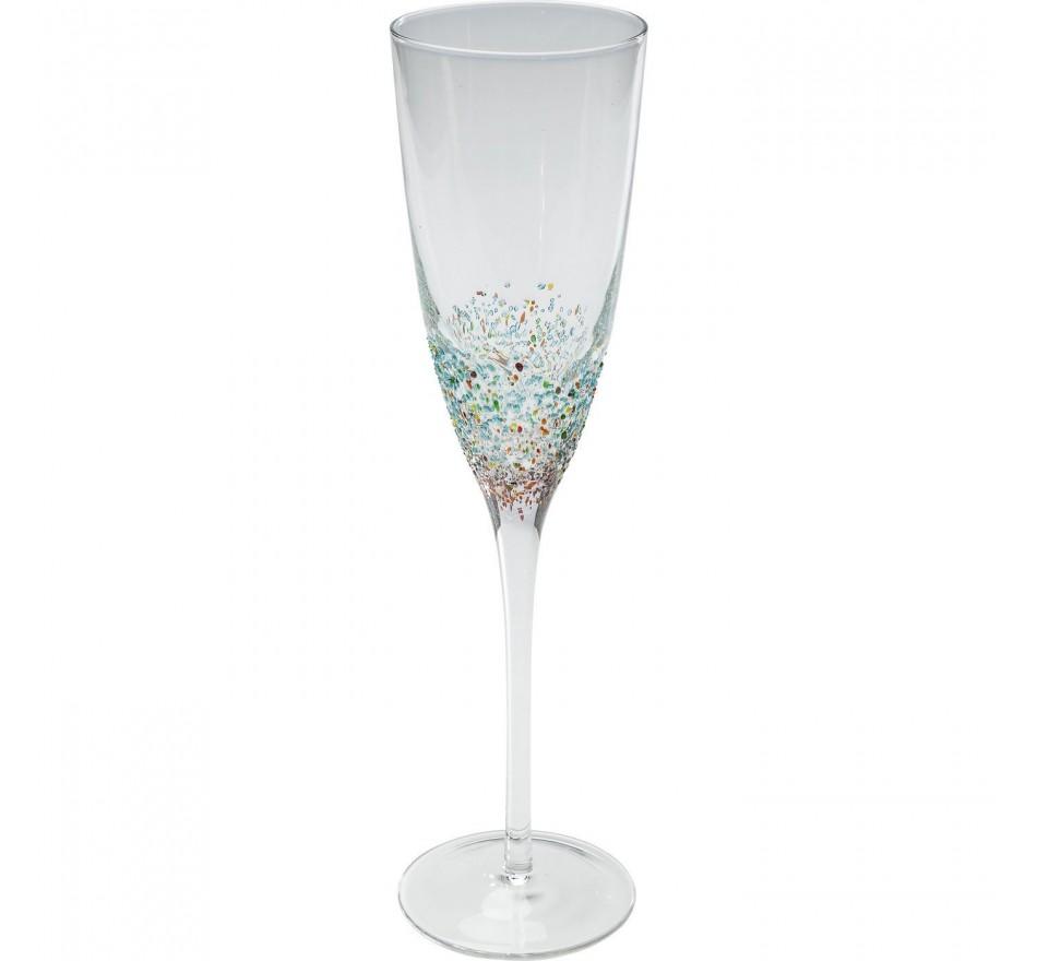 Flûte à champagne Marino 2/set Kare Design