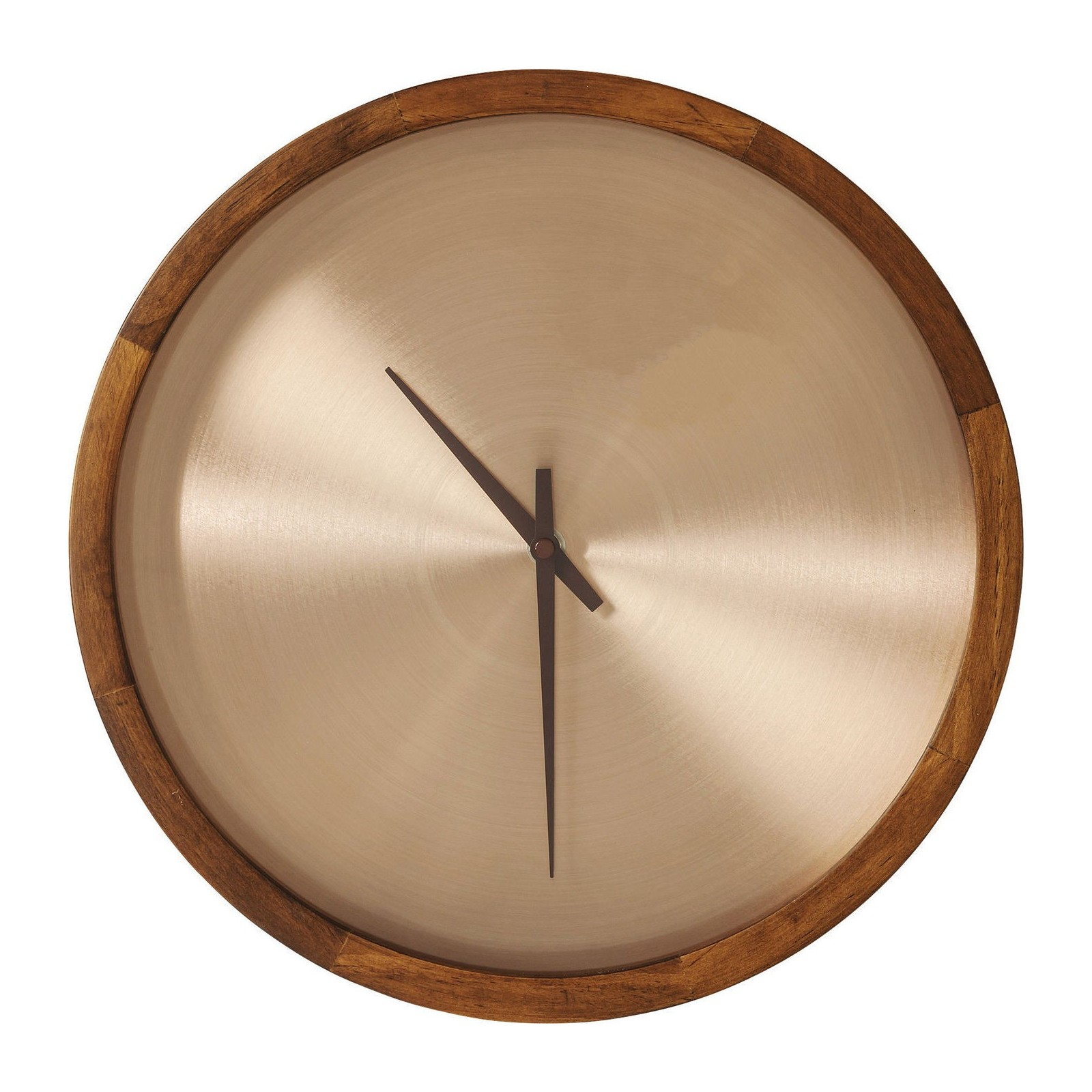 Horloge murale edge cuivre kare design for Decoration murale cuivre