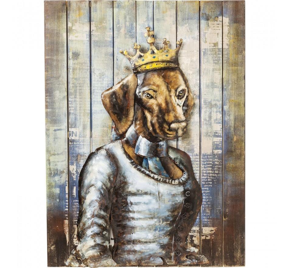 Tableau Iron Queen Dog Kare Design