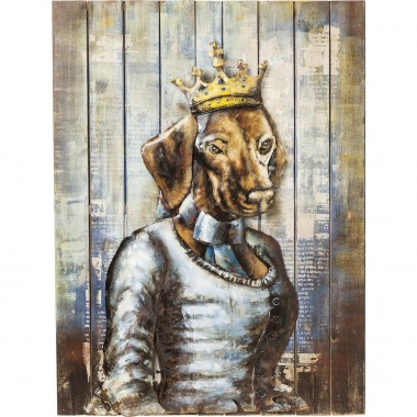 Tableau Iron Queen Dog Kare Design