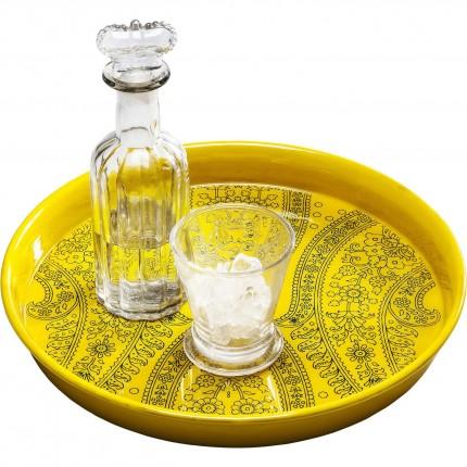 Plateau Gobi jaune Kare Design