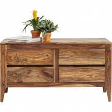 Commode Brooklyn nature 4 tiroirs Kare Design