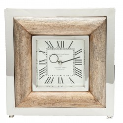 Horloge de table St Martin bois Kare Design