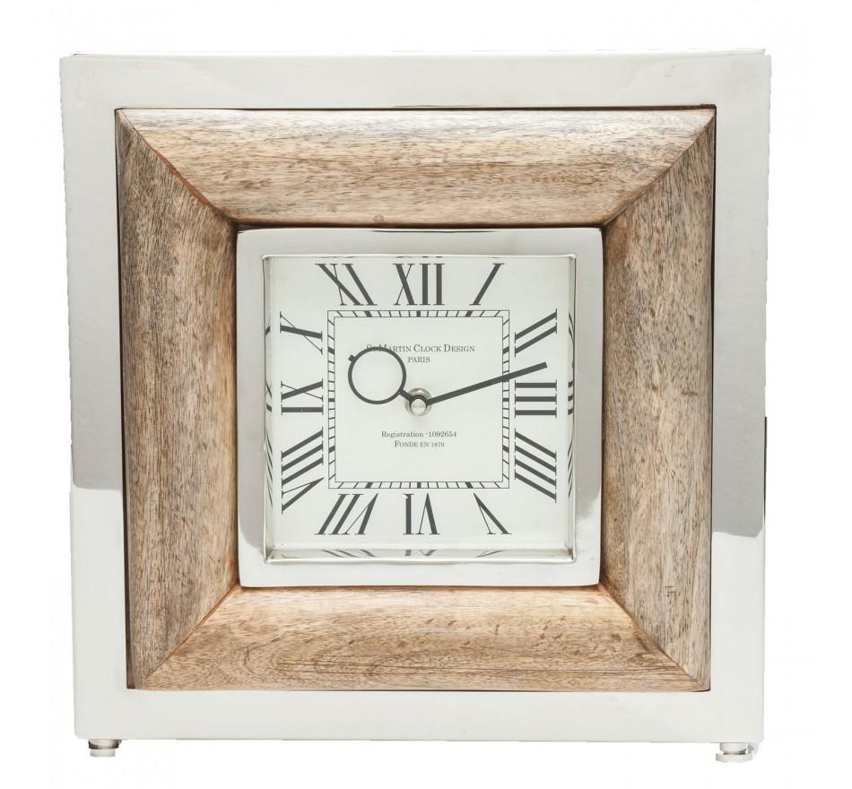 Horloge à poser St Martin bois Kare Design