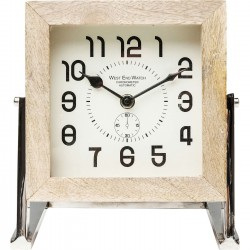 Horloge de table Cube 17cm Kare Design