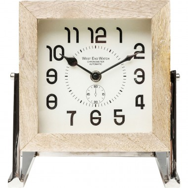 Horloge de table Cube 16 cm Kare Design