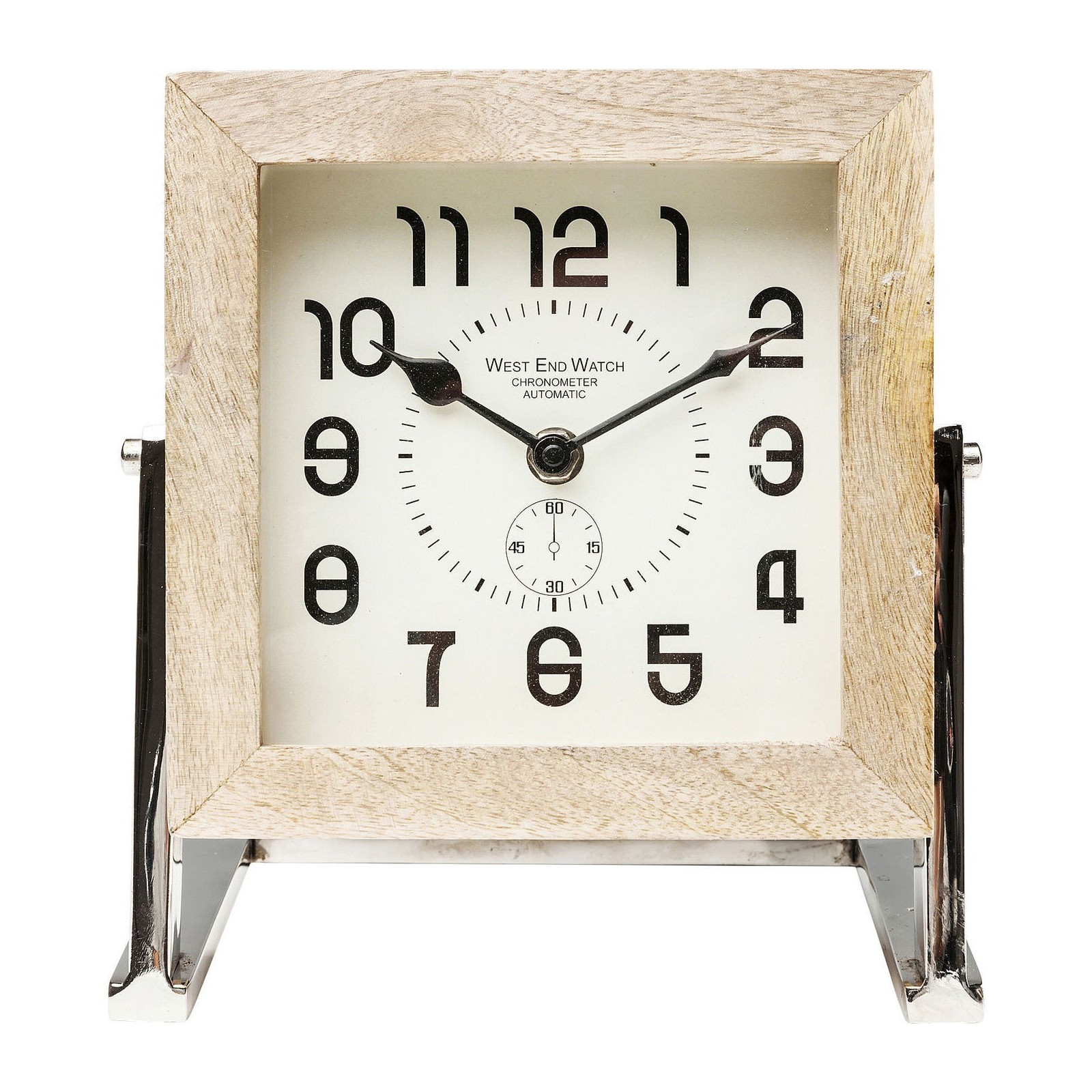 horloge de table cube 16 cm kare design. Black Bedroom Furniture Sets. Home Design Ideas