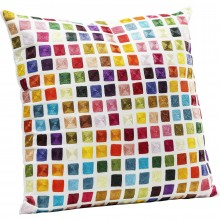Coussin Square multicolore 45x45cm Kare Design