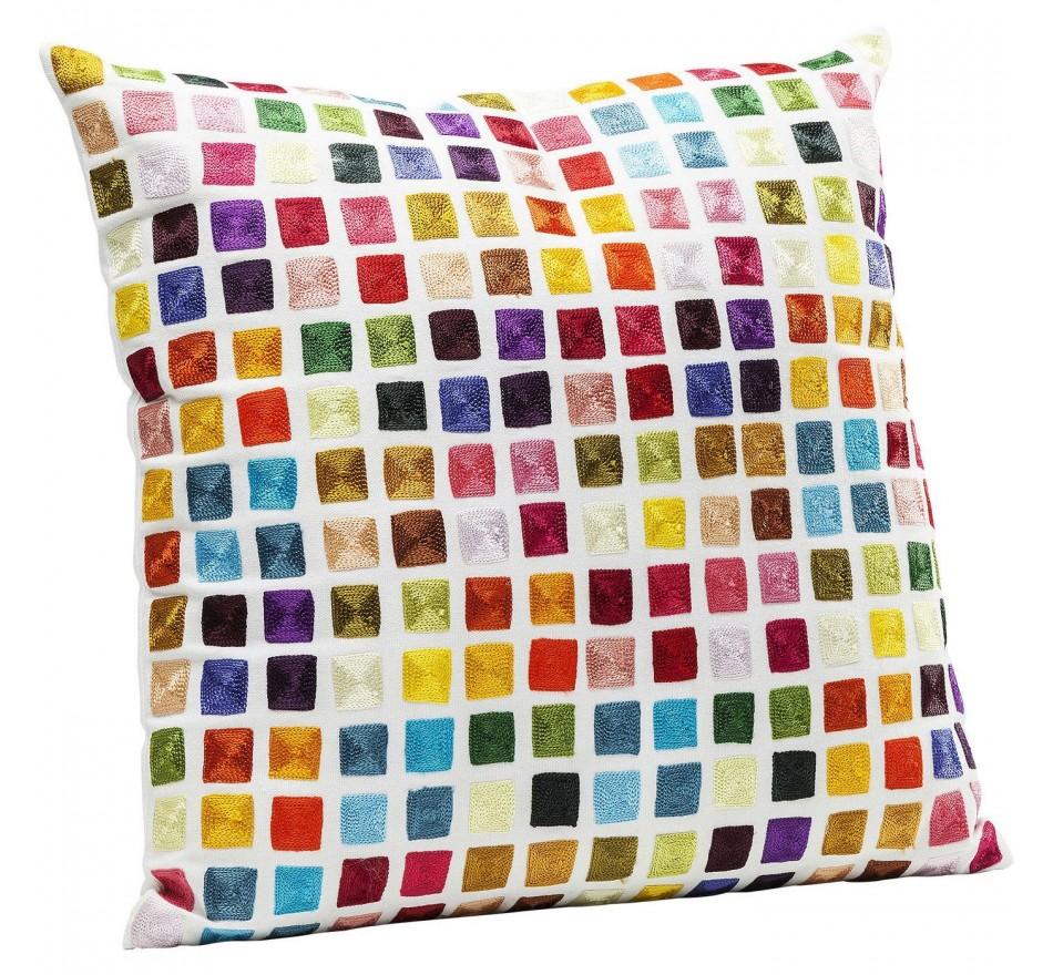 Coussin Square multicolore 45x45cm Kare Design