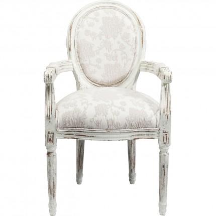 Chaise avec accoudoirs Louis Romance Kare Design