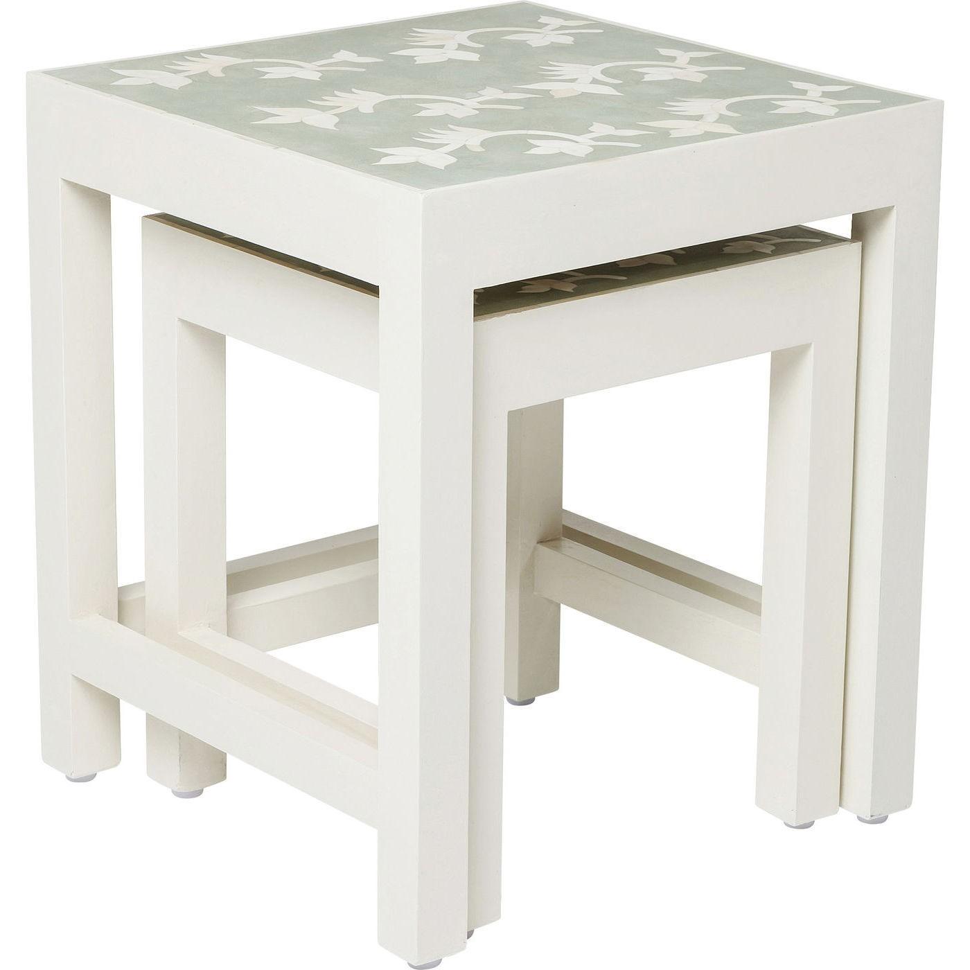 Tables d'appoint Osaka set de 2 Kare Design
