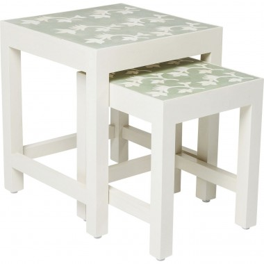 Tables d'appoint Osaka set de 2 Kare Design