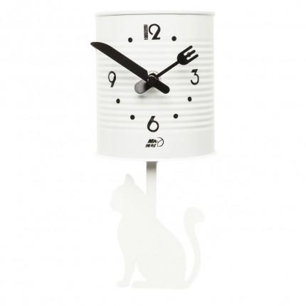 Horloge murale Tin Cat Kare Design