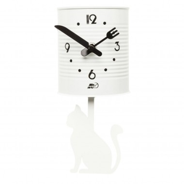 Horloge murale Tin Cat Kare Design