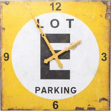 Horloge murale Parking Lot 101x101cm Kare Design
