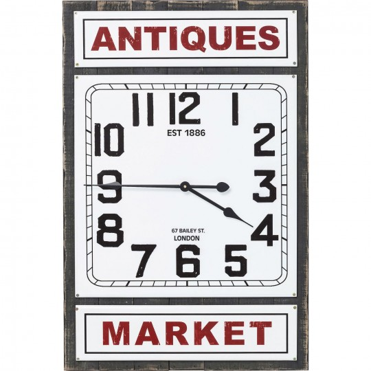 Horloge murale Antique Market Kare Design