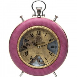Horloge de table Velvet Pink Time Kare Design