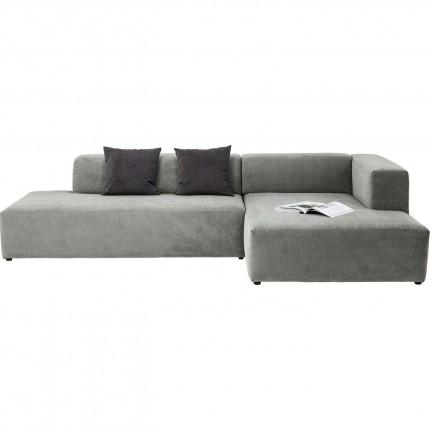 Canapé d'angle Pablo Grande droite gris Kare Design