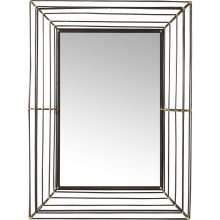 Miroir Hacienda rectangulaire 95x71cm Kare Design