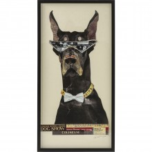 Tableau Frame Art Cool Dog 121x61cm Kare Design