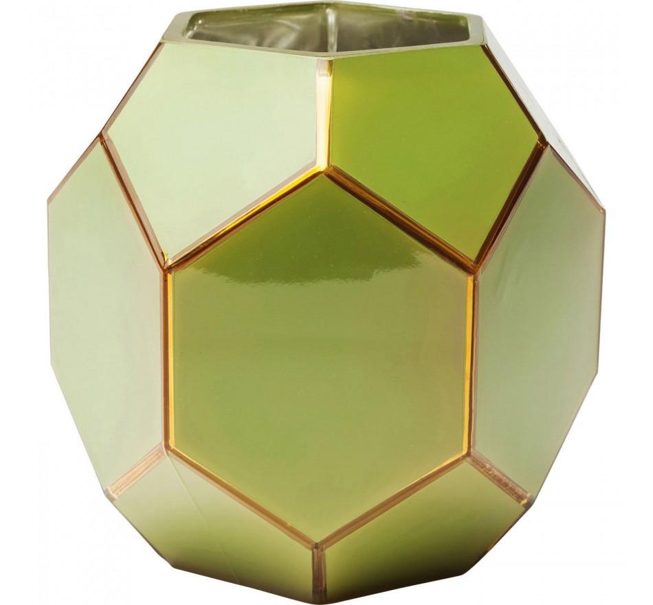 Vase Art vert 18cm Kare Design