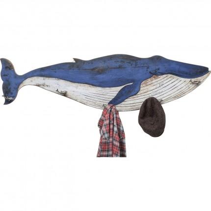 Portemanteau baleine bleue Kare Design