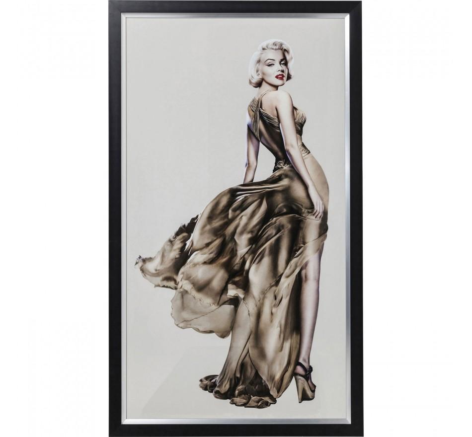 Tableau Frame Marilyn 172x100cm Kare Design