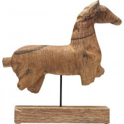 Déco cheval en bois Kare Design