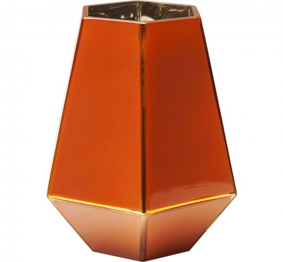 Vase Art rouge pastel 21cm Kare Design