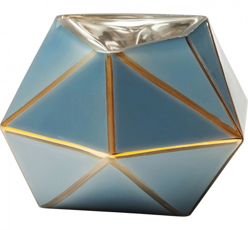 Vase Art bleu pastel 14cm Kare Design