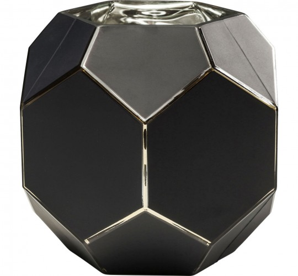 Vase Art noir pastel 22cm Kare Design
