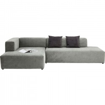 Canapé d'angle Pablo Grande gauche gris Kare Design