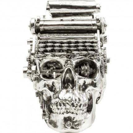 Tirelire Steampunk Typewriter chromé Kare Design