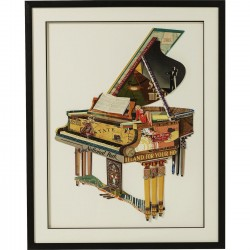 Tableau Frame Art Piano 90x72cm Kare Design