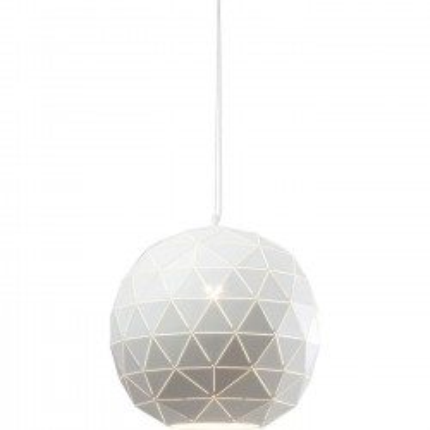 Suspension Triangle blanche 40cm Kare Design