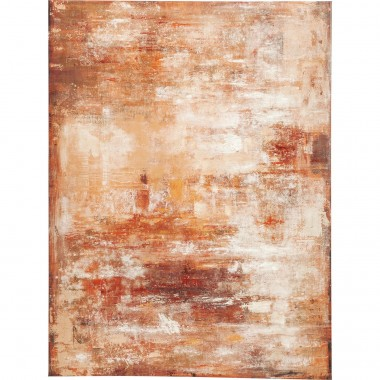 Tableau Touch Abstract rouge 90x120cm Kare Design