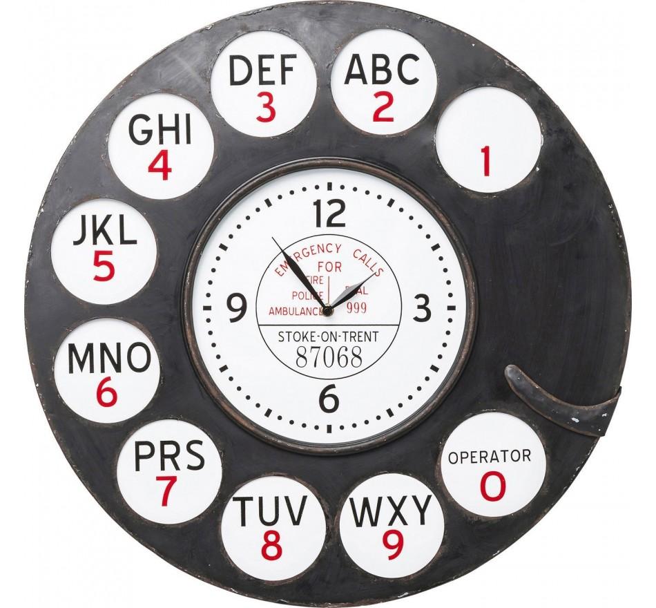 Horloge murale Dial 46cm Kare Design