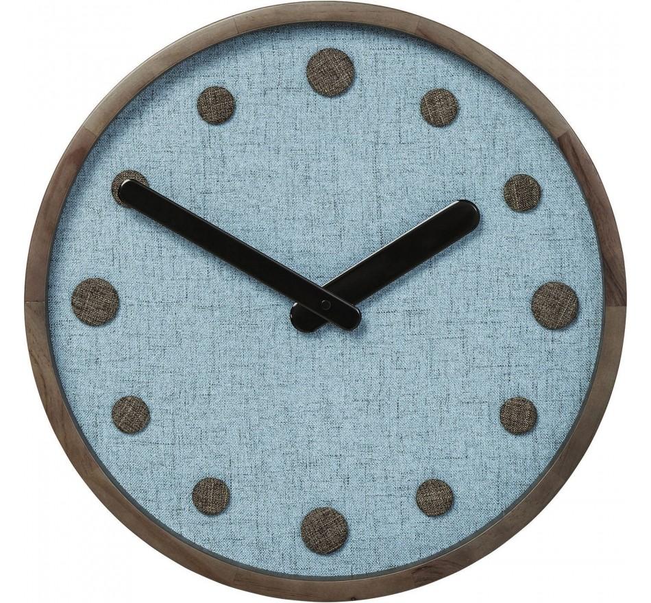 Horloge murale Arizona bleu 42cm Kare Design