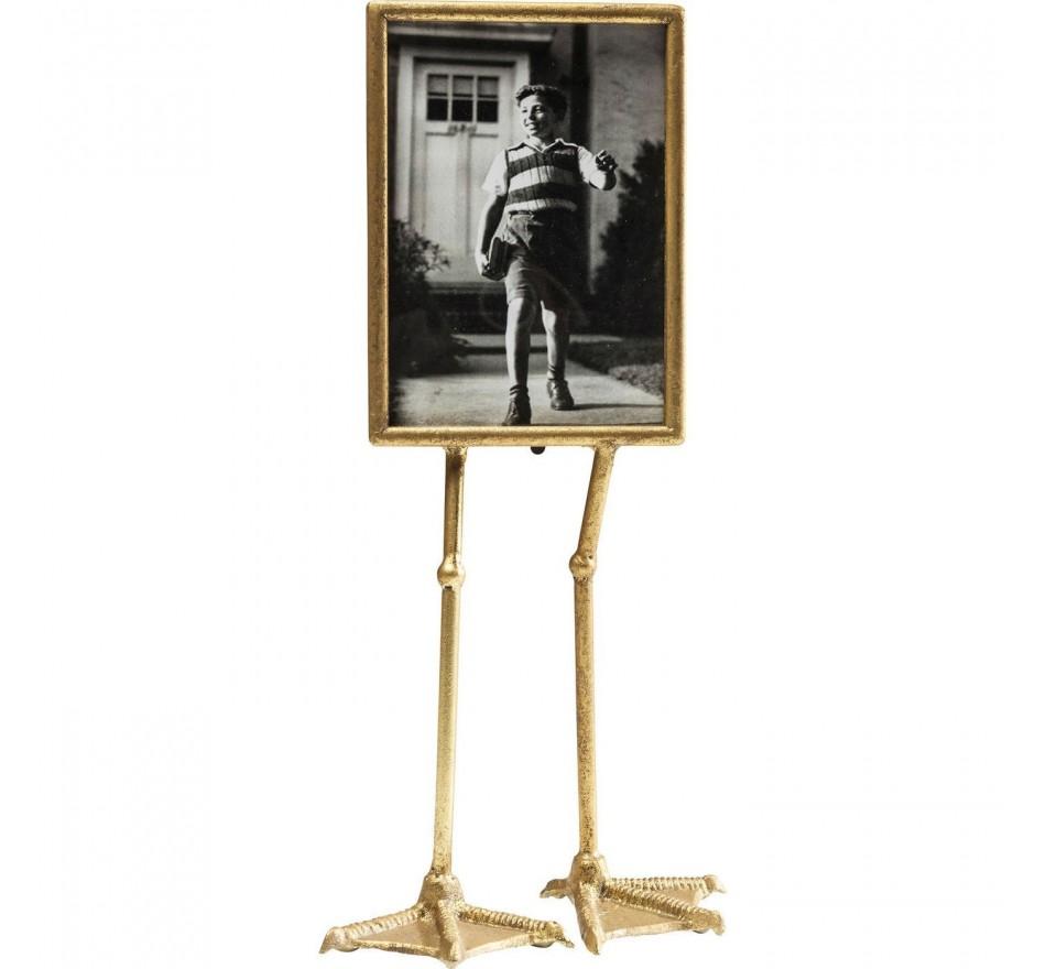Cadre pattes palmées vertical 13x18cm Kare Design