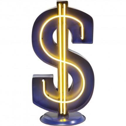 Lampadaire Dollar Neon Kare Design