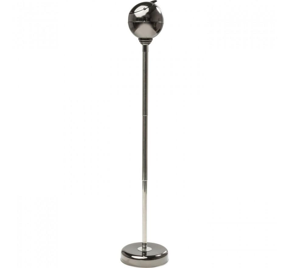 Cendrier sur pied Spheric noir Kare Design